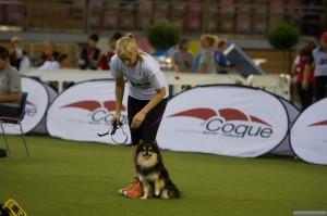 Bare tre år gammel var hun med på sitt første VM i Luxemburg.