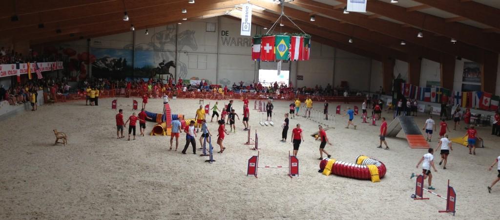 Brifing kan være ganske så kaotisk! Her fra European open i Belgia i 2013.