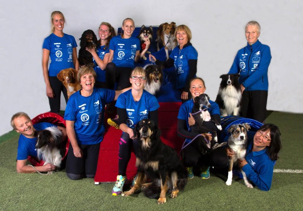 Fjorårets gruppebilde av Åsmarka blandede. Foto: Roy Myhre.