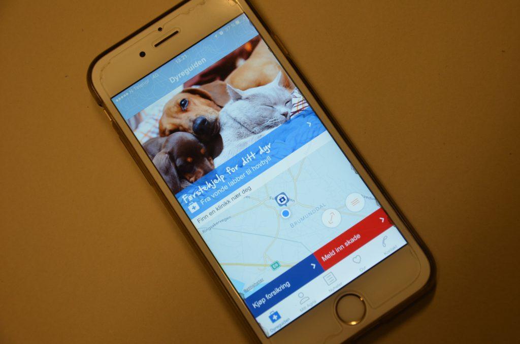 Mange nyttige og morsomme funksjoner i appen!